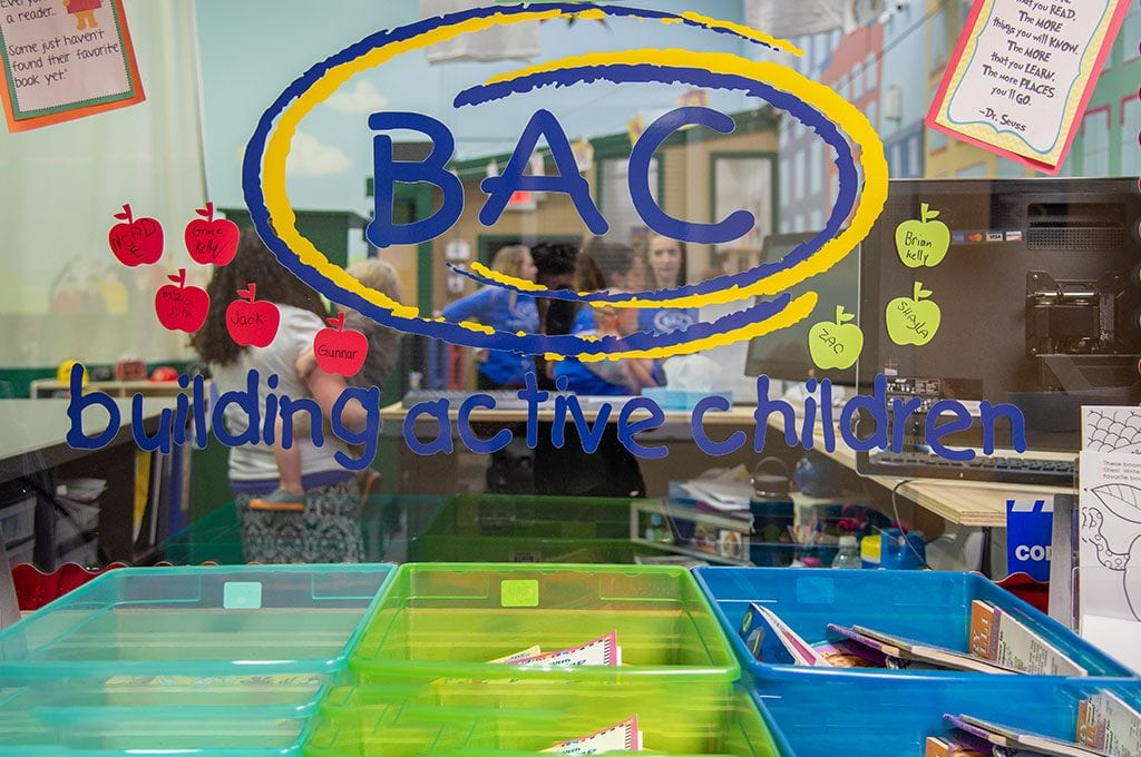 BAC logo - building active children