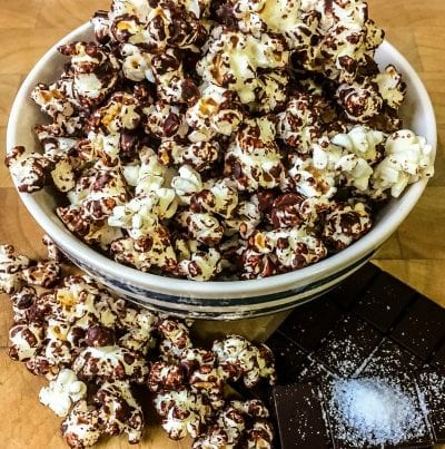 brick bodies nutritious tip on healthy snack popcorn with dark chocolate