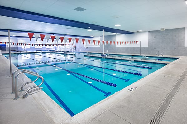 padonia indoor swimming pool at brick bodies gym
