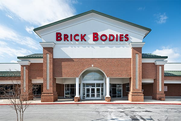 exteriior padonia brick bodies gym location